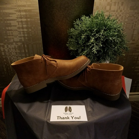 """KingsTrend Other - HOST PICK!! NWT Men's """"Chukka"""" Suede Shoes"""